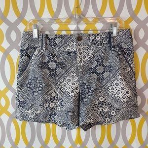 ANTHROPOLOGIE Cartonnier Shorts Size 6